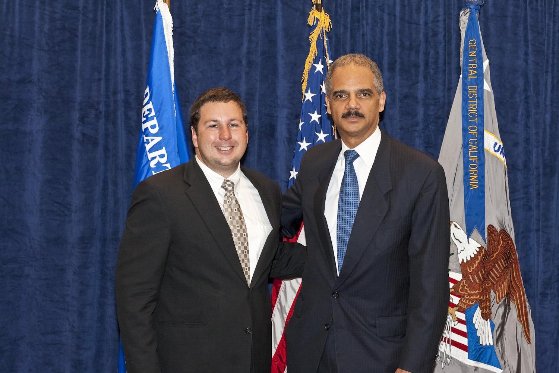 AG Eric Holder Visit -95