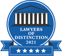 2021 Lawyers of Distinction Badge