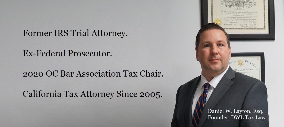 Tax Attorney Newport Beach, Orange County, CA - DWL Tax Law